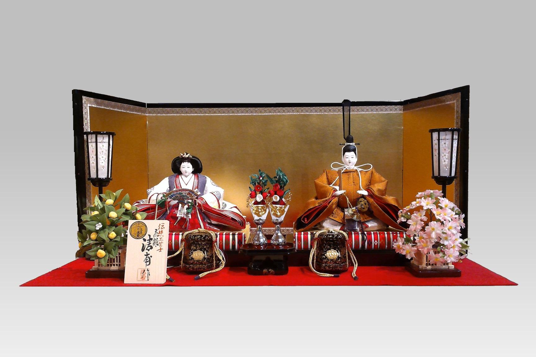 雛人形(ひな人形)親王飾りの写真を更新しました。