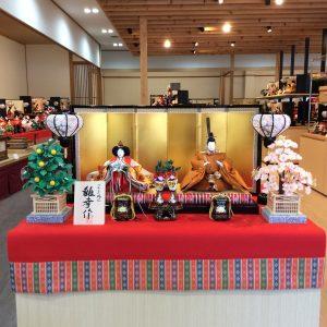 平安五世雛幸の京雛人形
